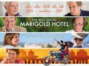 The Best Exitic Merigold Hotel movie poster
