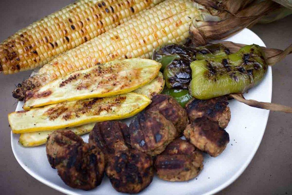 Grilled Vegan Meatballs (kofta)