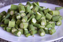 Chopped Okra