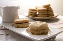 Cardamom Semolina Shortbread Cookies