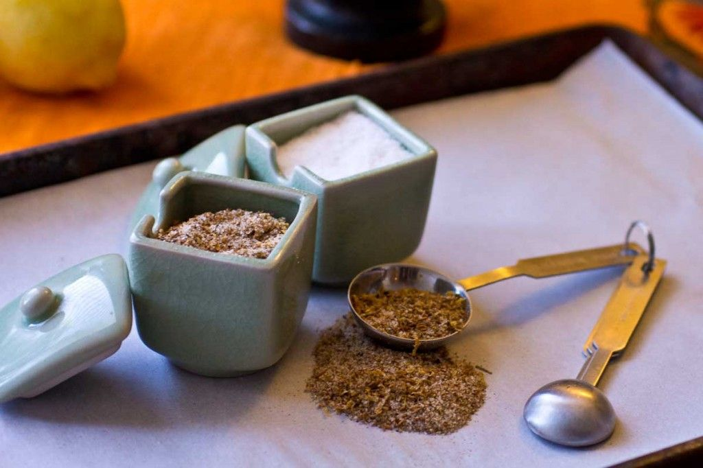 Cumin and Lemon Salt by Indiaphile.info