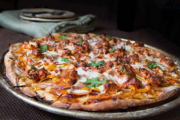 Tandoori Paneer Pizza by Indiaphile.info