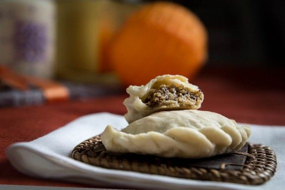 Toffee Nut Hand-Pies (Ghoogra) by Indiaphile.info