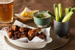 Baked Tandoori Chicken Wings by Indiaphile.info