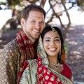 Steve and Puja on their wedding day