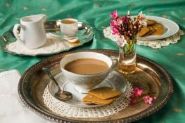 Masala chai - the perfect cup of spiced chai with lemongrass and your choice of milk