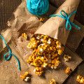 Chili Caramel Popcorn by Indiaphile.info