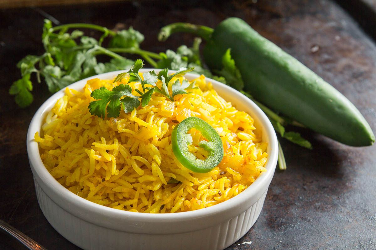 Quick And Easy Indian Fried Rice Vagharelo Bhaat Indiaphile