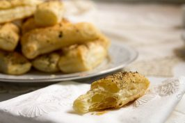 Savory Puff Pastry Bites (Khari Biscuit) by Indiaphile.info