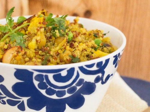 Healthy And Easy Indian Spiced Quinoa Indiaphile