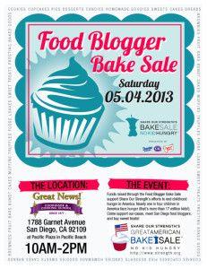 San Diego Food Bloggers Bake Sale - 2013