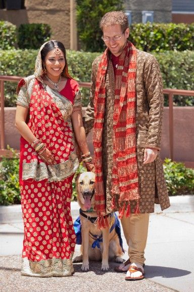 Thomas-Patel Indian-inspired Wedding (Indiaphile.info)