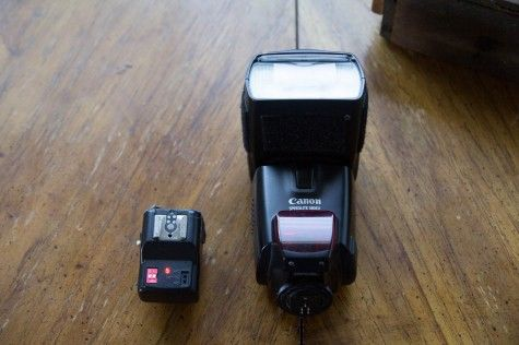 Canon flash and trigger