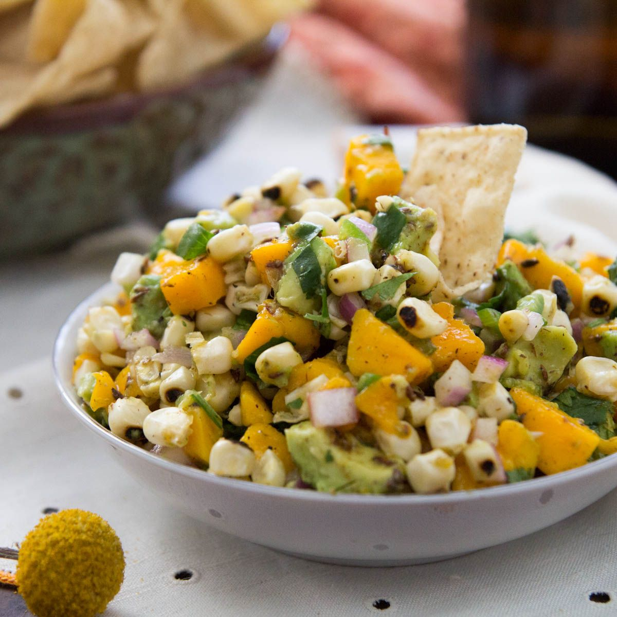 ... Bluegrass Jam Barbecue and Mango Avocado and Corn Salsa - Indiaphile