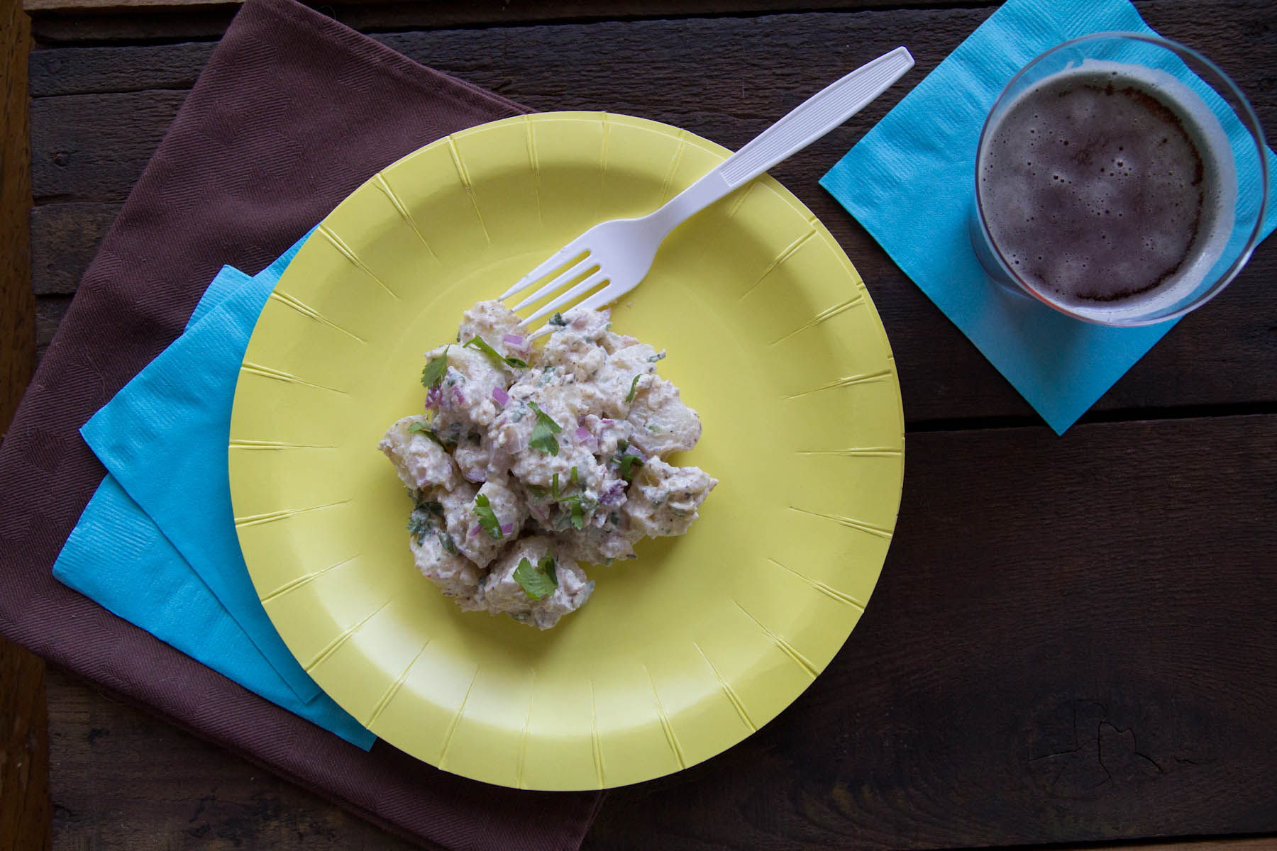 Healthy picnic food indian style cumin ginger potato salad indian style cumin ginger potato salad by indiaphilefo forumfinder Images