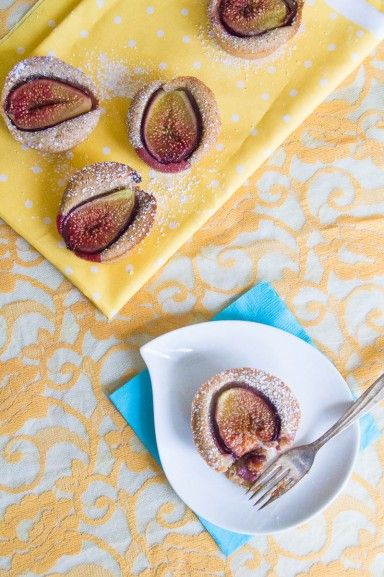 Fig and Cardamom Tea Cake by Indiaphile.info