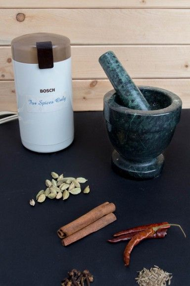 Spice Grinder and Mortar and Pestle