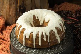 Chai Spiced Pumpkin Bundt Cake recipe at Indiaphile.info