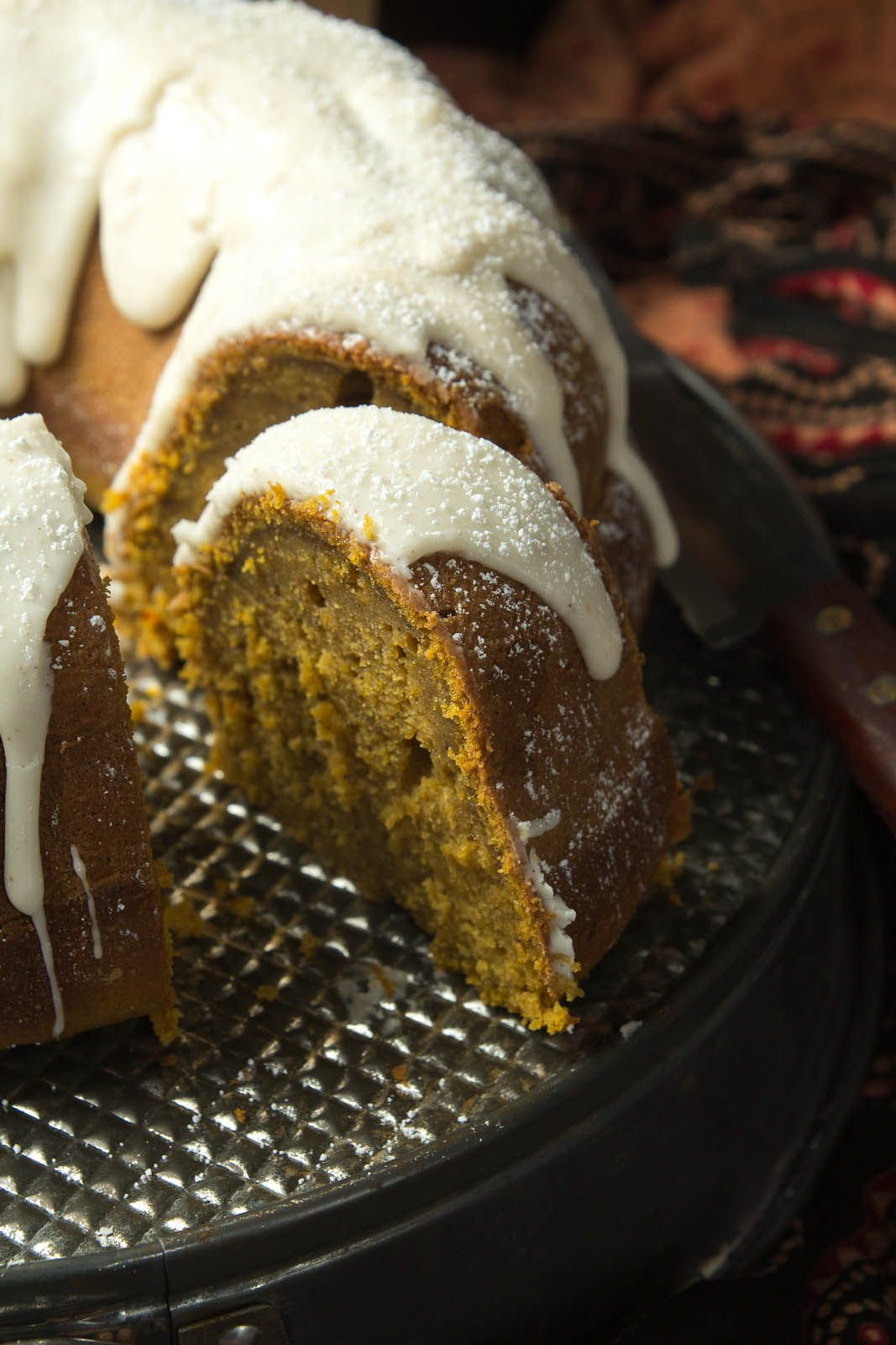 chai spiced pumpkin bundt cake for the bundt cake ingredients