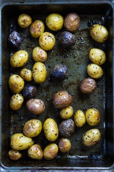 Nigella Roasted Potatoes recipe at Indiaphile.info