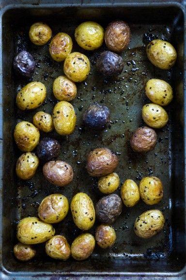 Nigella Roasted Potatoes recipe at Indiaphile.info