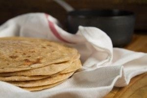 How To Make Paratha Indian Flat Bread At Home - a recipe for whole wheat, no yeast flatbread