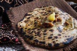 Bajri no rotla - millet flat bread