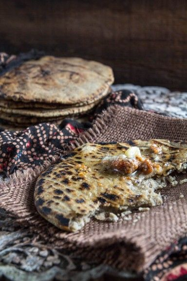 Gluten Free Millet Flat Bread (Bajri no Rotlo). With step by step video. Recipe at Indiaphile.info