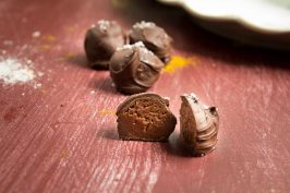 Curry Caramel Truffles recipe by Indiaphile.info