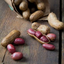 Boiled peanuts, a delicious Indian snack
