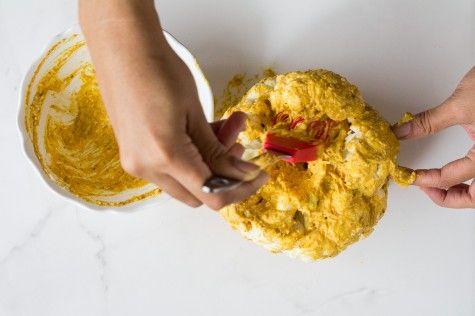 Whole roasted tandoori cauliflower recipe at Indiaphile.info