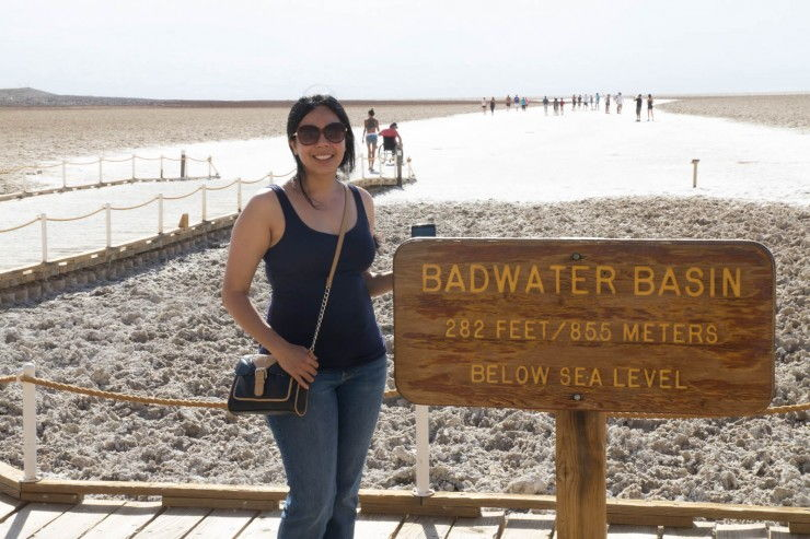 Badwater Basin, Furnace Creek, Death Valley