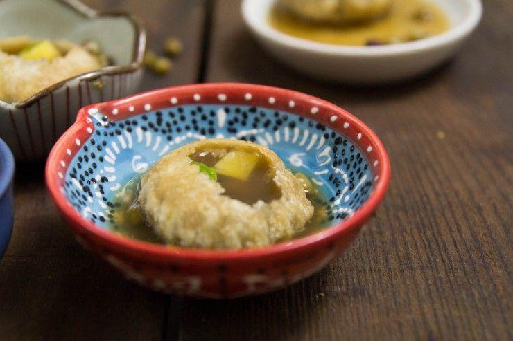 Pani Puri recipe by Indiaphile.info