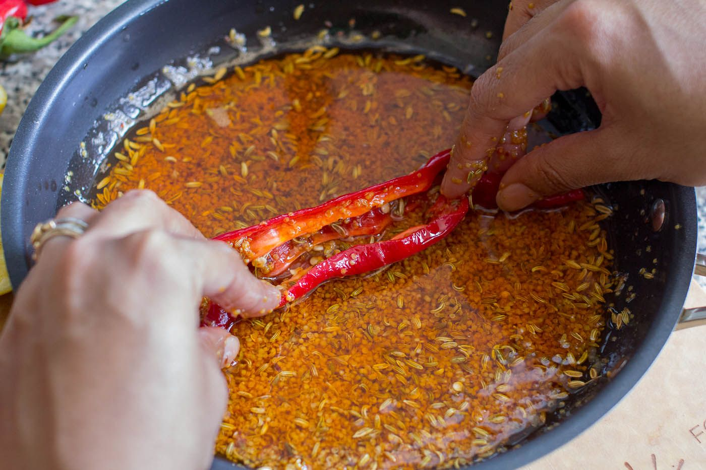 how to make red pickles