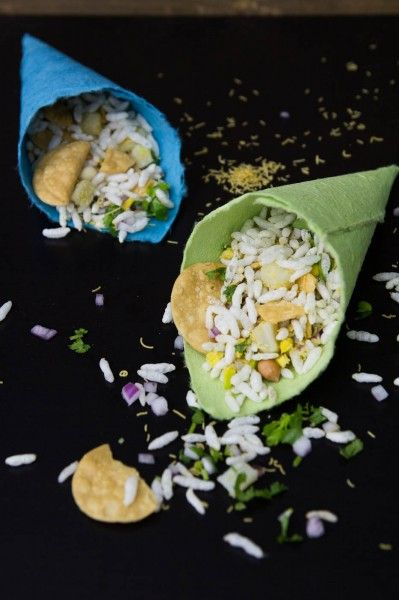 Dry bhel recipe by Indiaphile.info