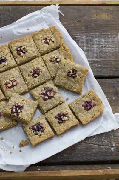 Gluten-free Walnut Bars (Walnut Burfi)