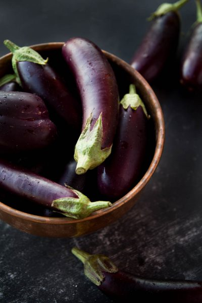 Eggplant and Potato Shaak recipe by Indiaphile.info
