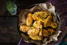 Cumin Chicken Wings recipe by indiaphile.info