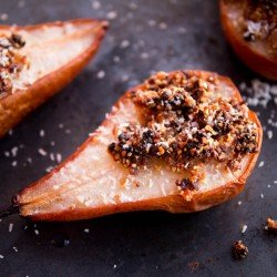Baked Pears recipe by Indiaphile.info