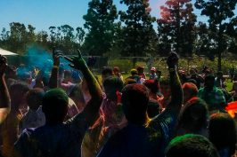 Celebrating Holi in San Diego