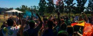 Celebrating Holi in San Diego