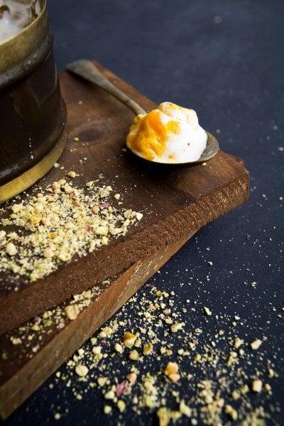 Mango Swirl Ice Cream