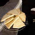 Cardamom Tea Shortbread Cookies recipe by Indiaphile.info