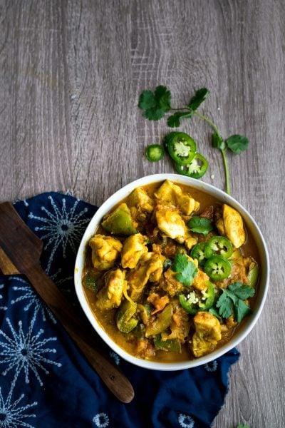Chicken Jalfrezi recipe by Indiaphile.info